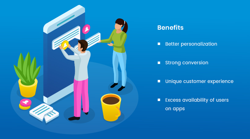Benefits of mobile application over a mobile website
