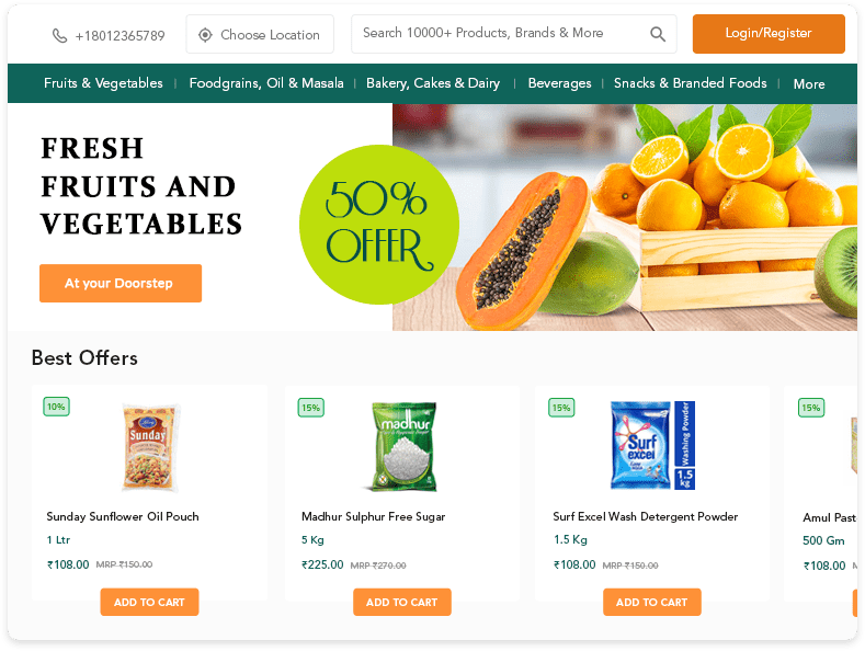 online grocery ordering software
