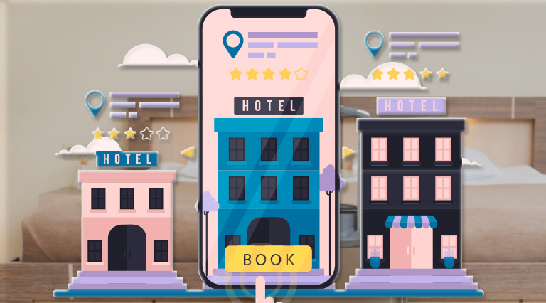 Mobile app for Hotel Booking | extbrain