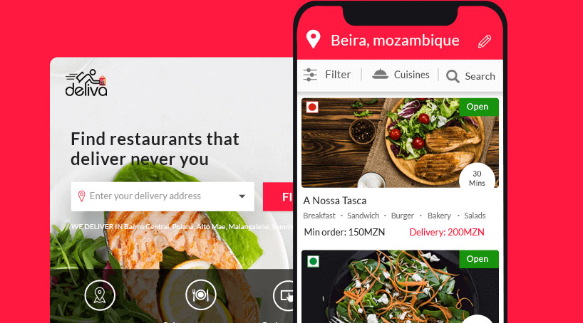 Deliva Africa - best food delivery and ordering app