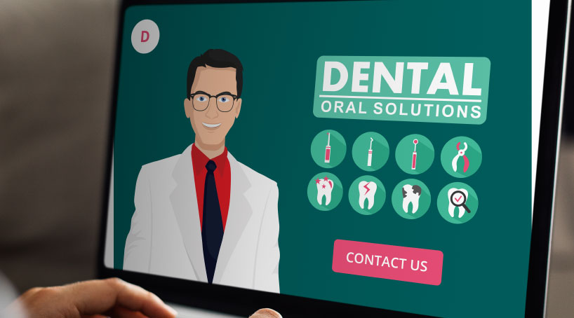 Custom website design ideas for dentists