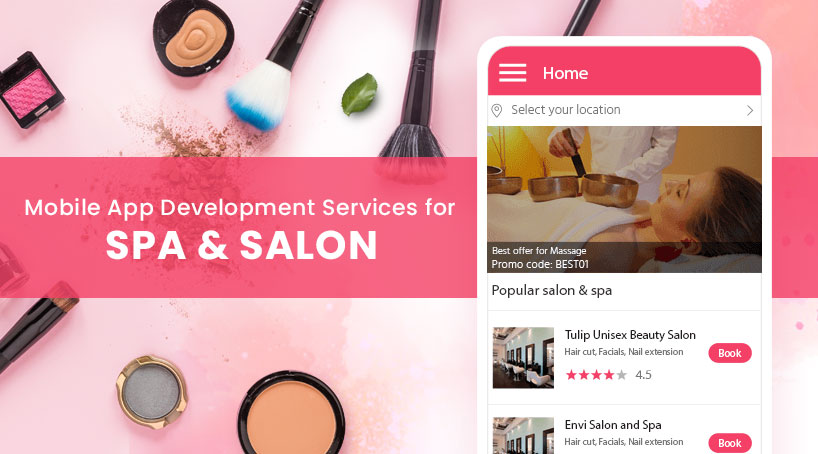 Mobile App Development Services for Spa & Salon