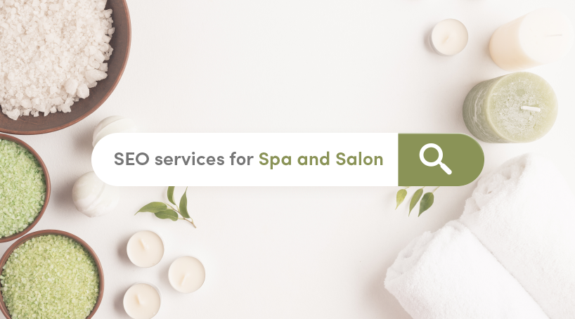 SEO Services For Spa and Salon