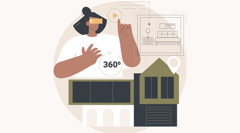 AR And VR Real Estate System