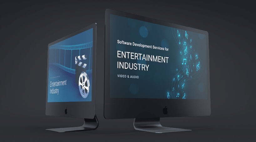 Software Development Services for the Entertainment Industry